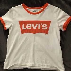 Levi's Cropped Tee